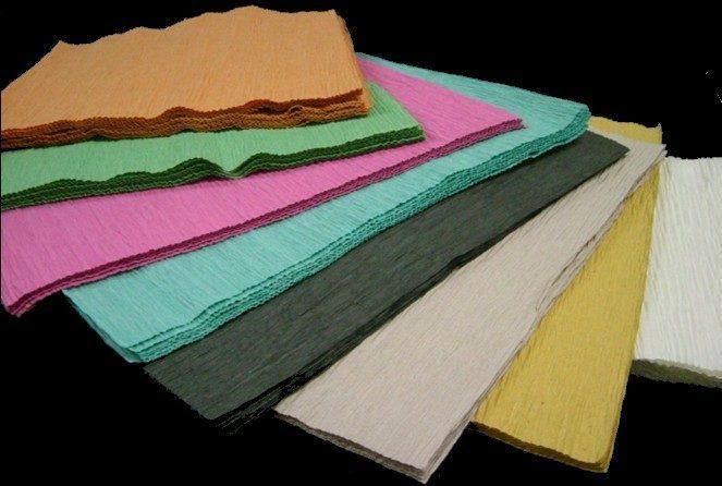 リサイクルクレープ紙・リサイクルクレープシートのご案内